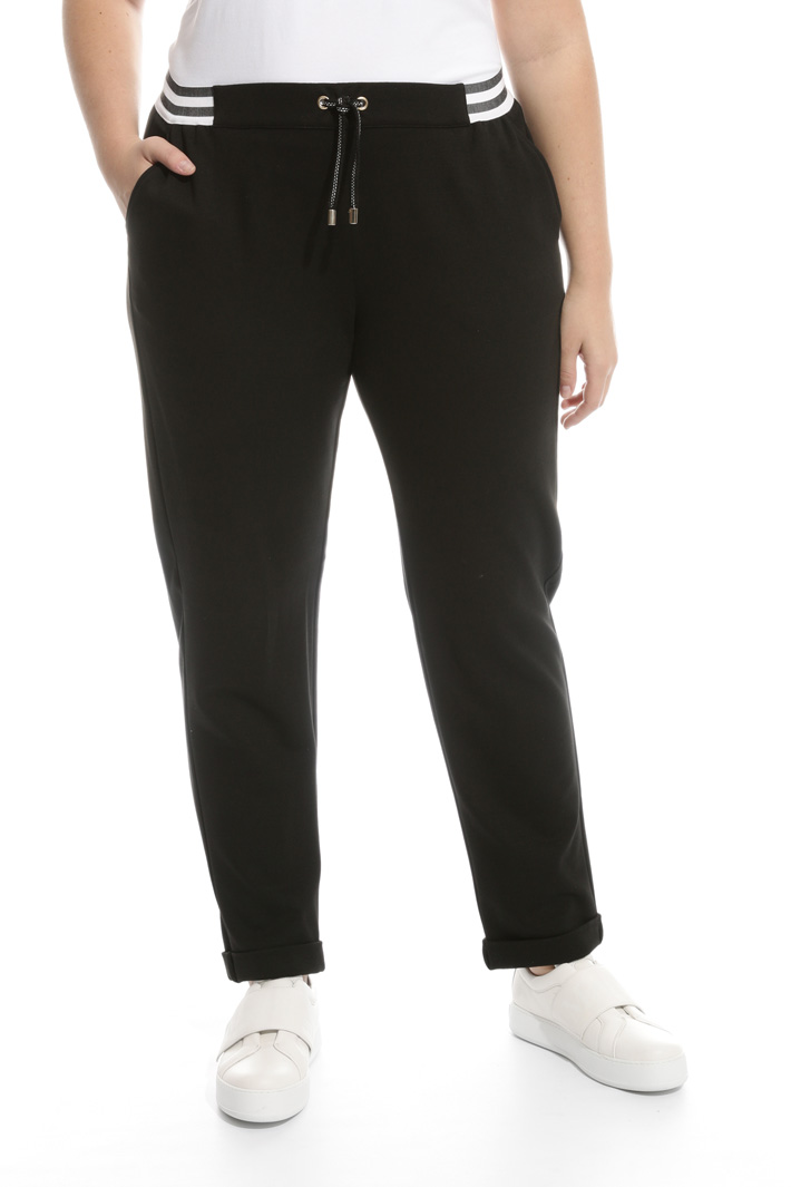 Pantaloni jogging in jersey Intrend