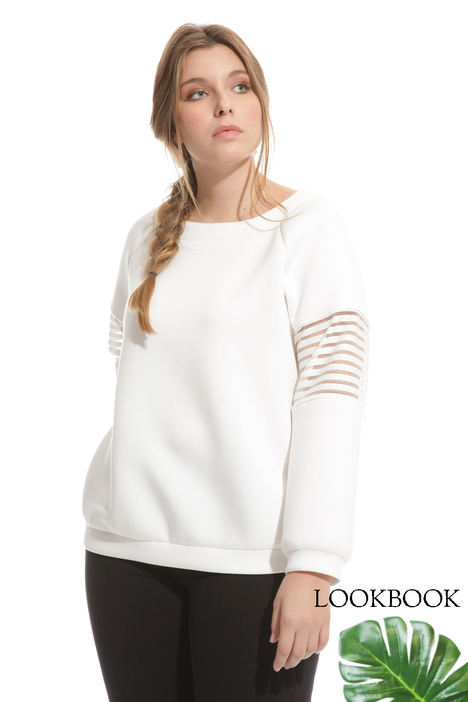 Sweatshirt in compact jersey  Intrend
