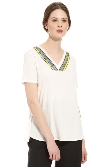 Bijou embroidered T-shirt Intrend