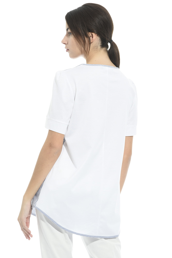 T- shirt over in cotone Intrend