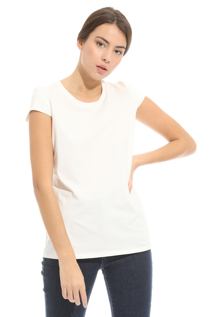 Jersey interlock T-shirt Intrend