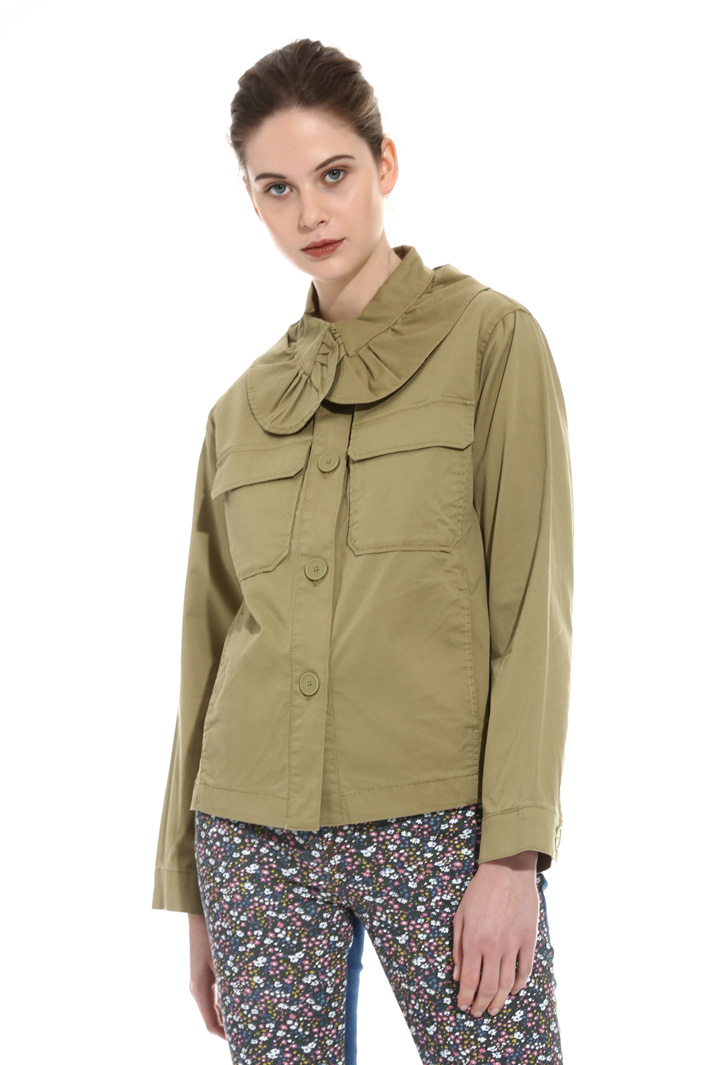 Oversized collar jacket Intrend
