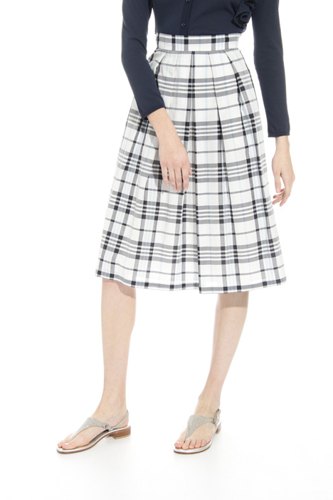 Checked skirt Intrend