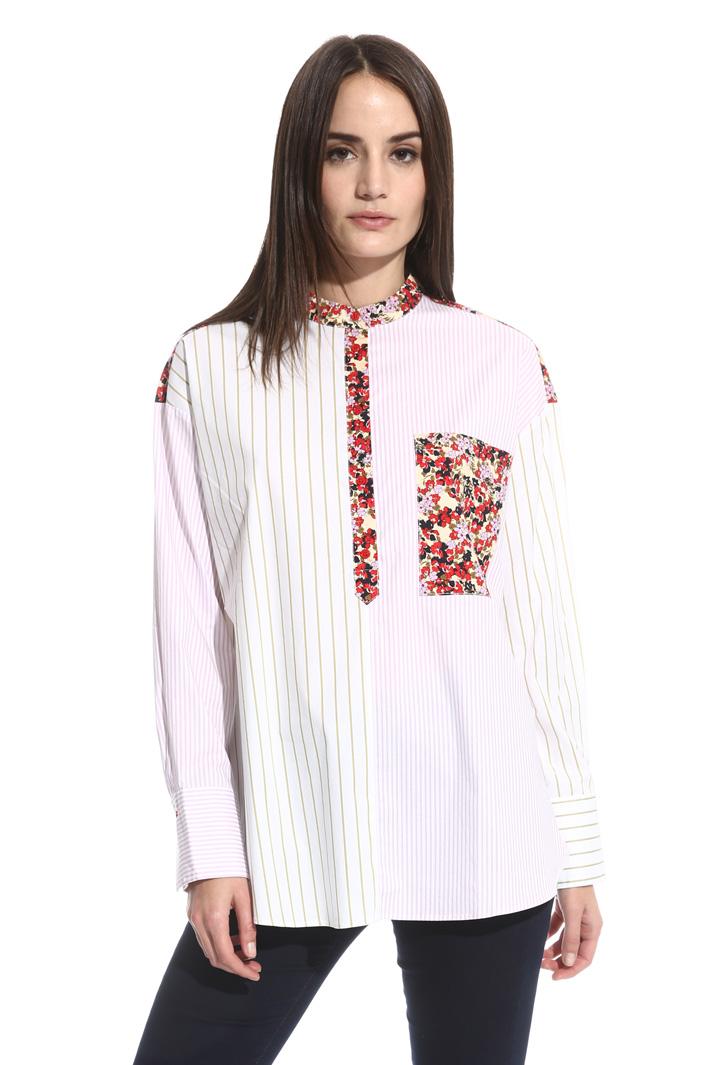 Mix design blouse Intrend
