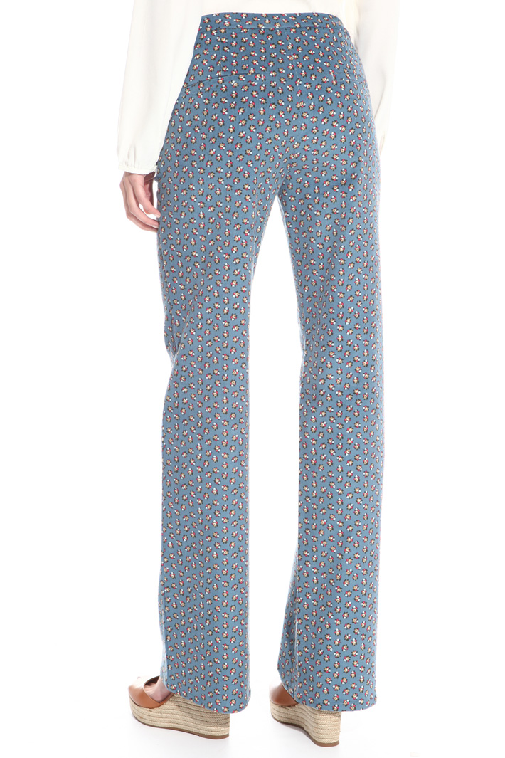 Pantalone lungo in velluo Intrend