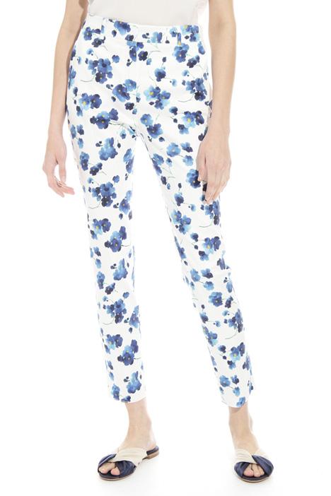 Pantalone in cotone stampato Intrend