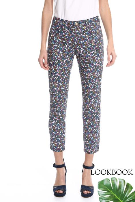 Pantalone aderente stampato Intrend