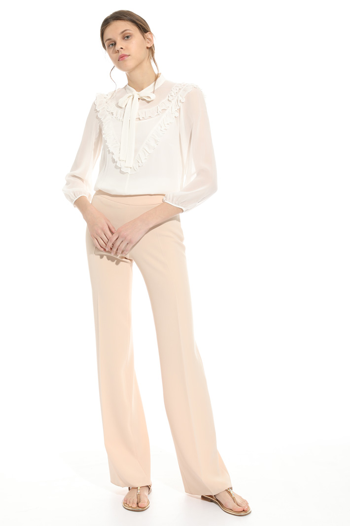 Triacetate cady trousers  Intrend