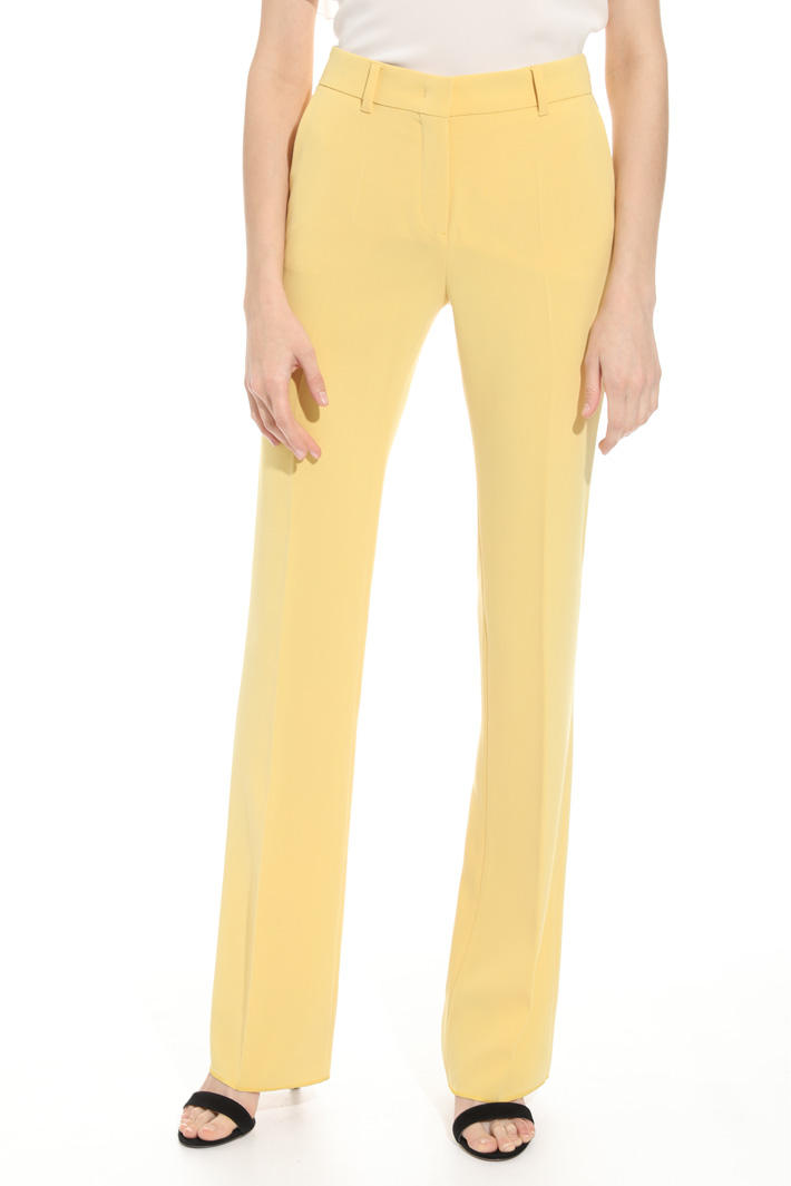 Pantalone lungo in cady Intrend
