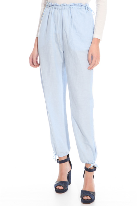 Soft chambray trousers Intrend