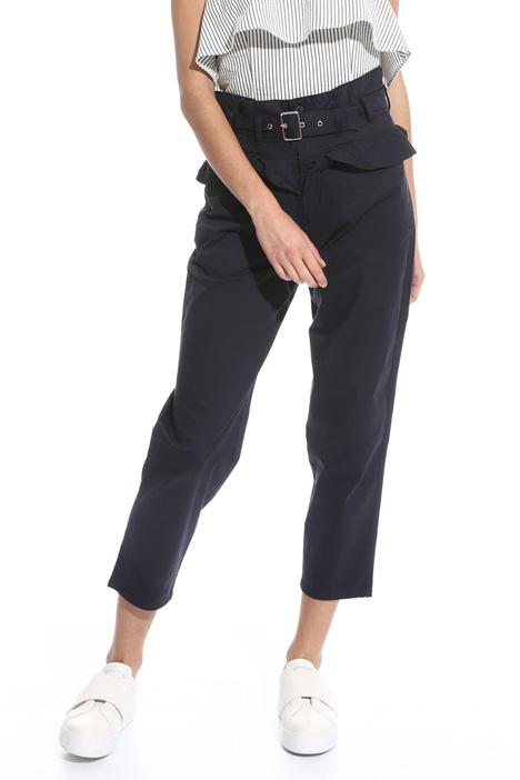Pantalone con baschina alta Intrend