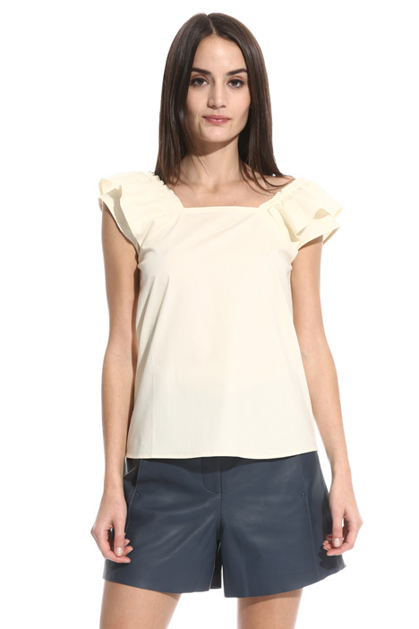 Cap sleeve top Intrend