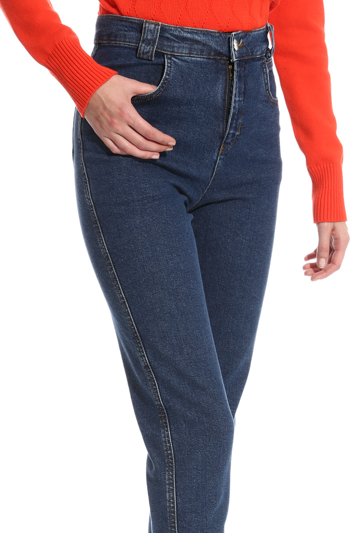Fitted high-waist trousers Intrend
