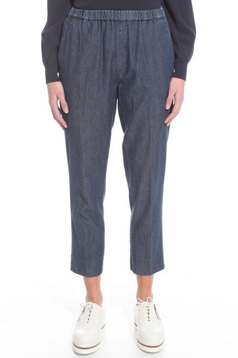 Lightweight denim trousers Intrend