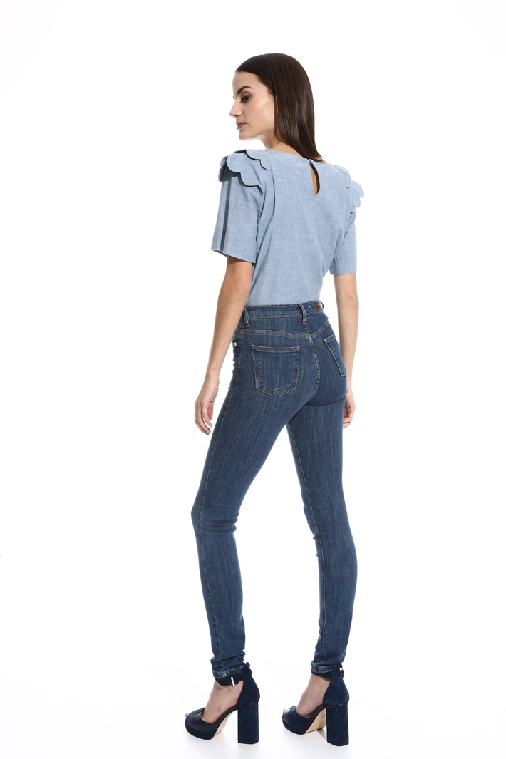 High waisted skinny jeans Intrend
