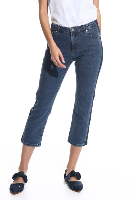 Fitted capri jeans Intrend