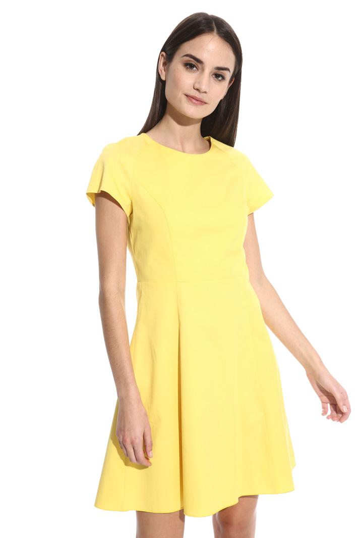 Poplin corolla dress Intrend