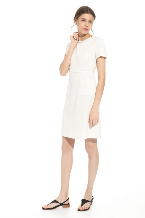 Double-crepe dress Intrend