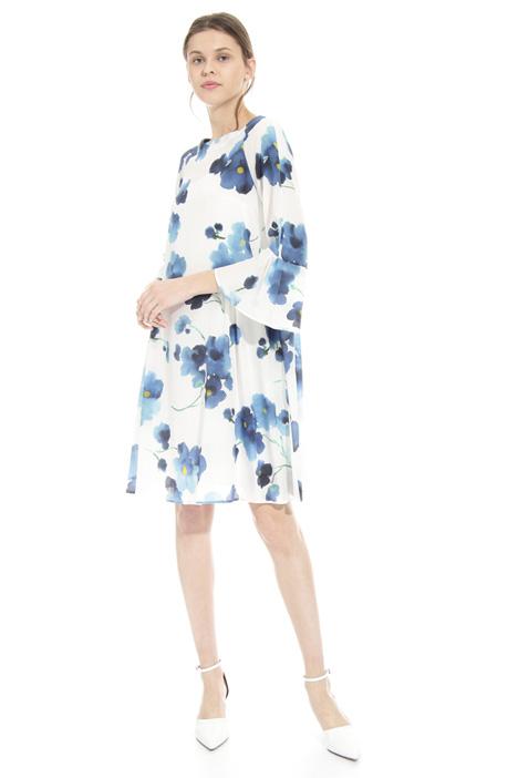 Macro flower dress Intrend