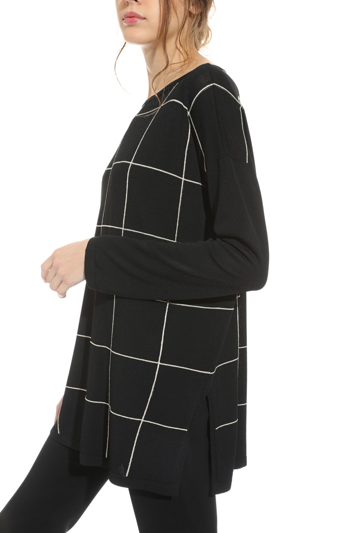 Viscose and lurex sweater Intrend