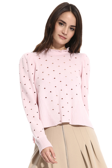 Perforated sweater Intrend