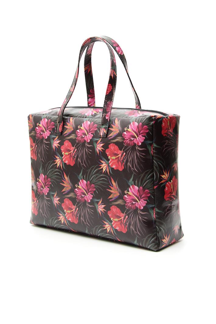 Fancy print shopper bag  Intrend