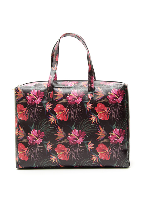 Fancy print shopper bag  Intrend