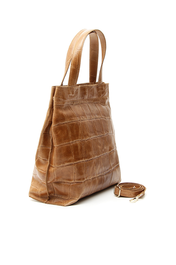 Crocodile print bag Intrend