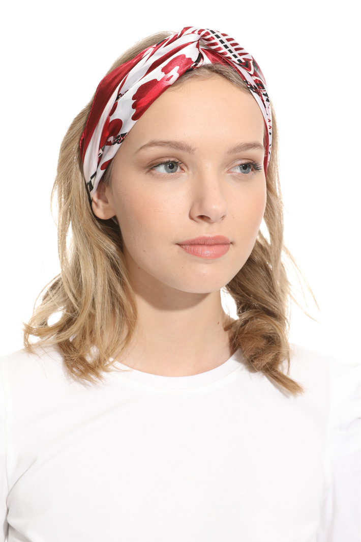 Satin foulard Intrend