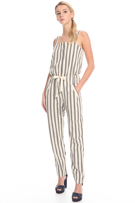 Chevron jersey jumpsuit  Intrend