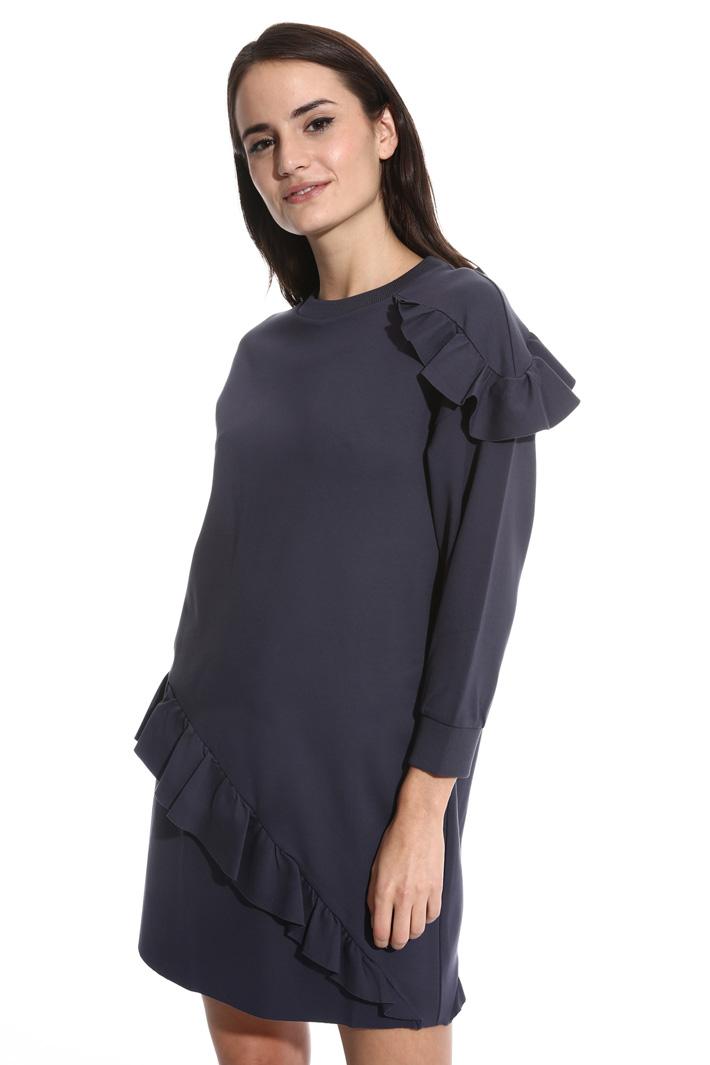 Flounced jersey dress Intrend