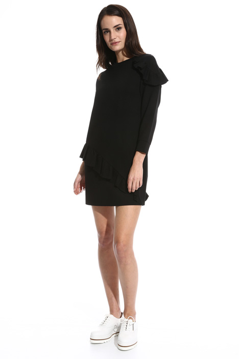 Flounced jersey dress Intrend