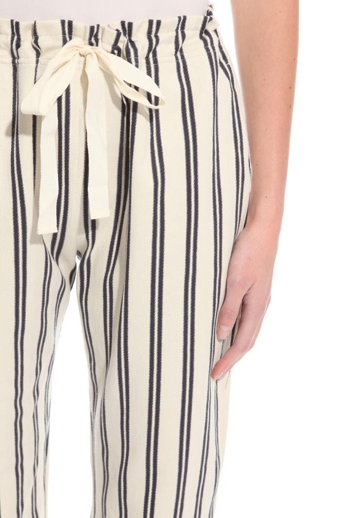 Pantalone in jersey chevron Intrend