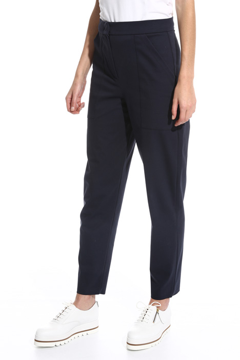High-Waisted carrot trousers Intrend