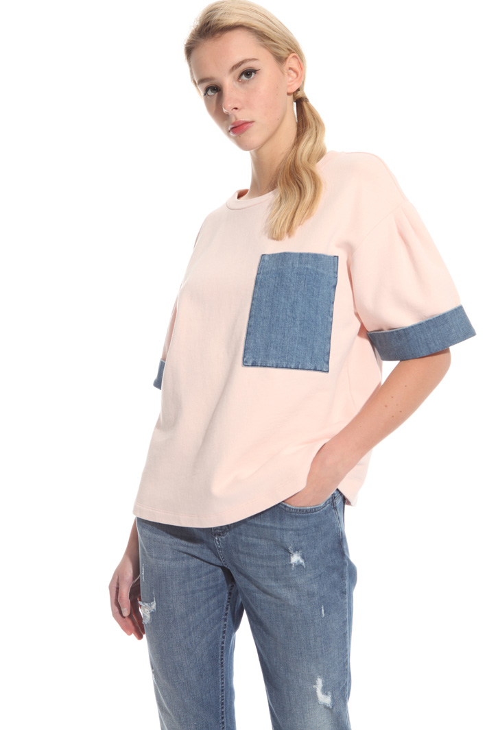 Cotton fleece top  Intrend
