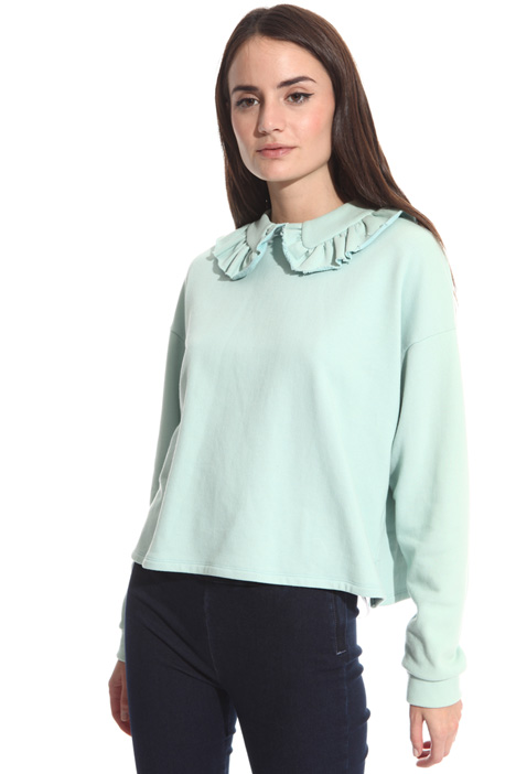 Maxi collar sweatshirt Intrend