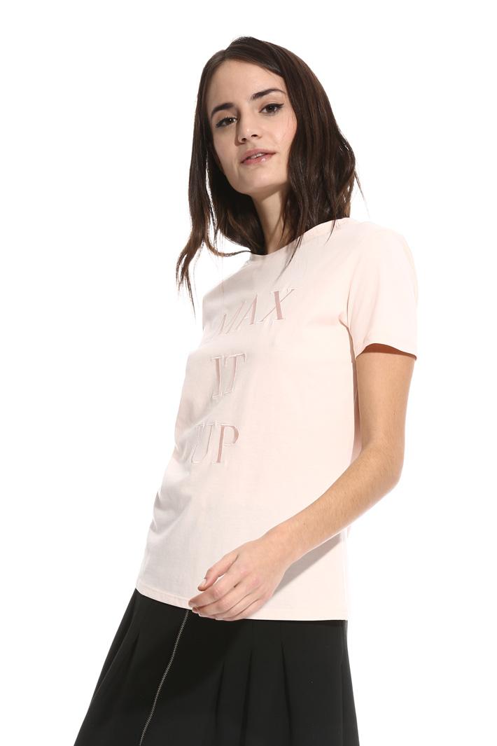 T-shirt girocollo in cotone Intrend