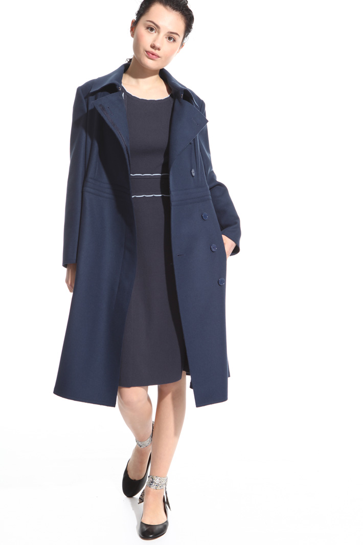 Felted coat Intrend