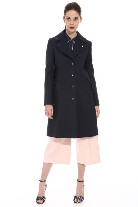 Heavy garbandine coat Intrend
