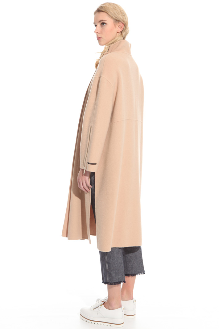 Light wool blend coat Intrend