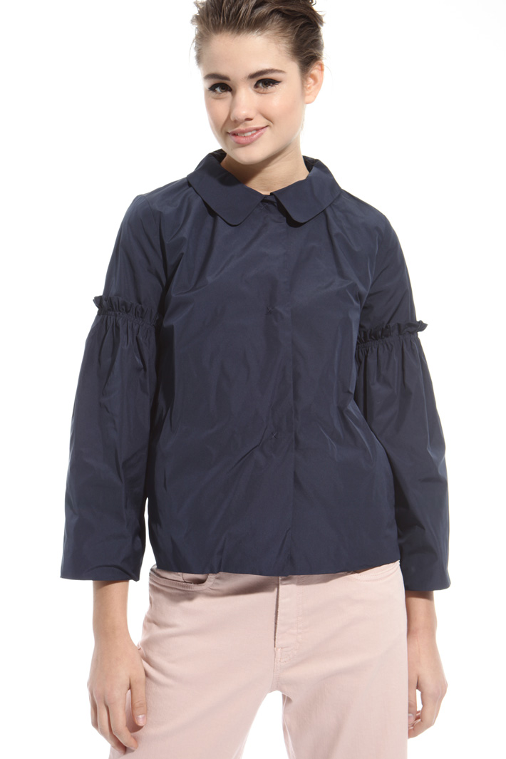 Jacket with frilled sleeves Intrend