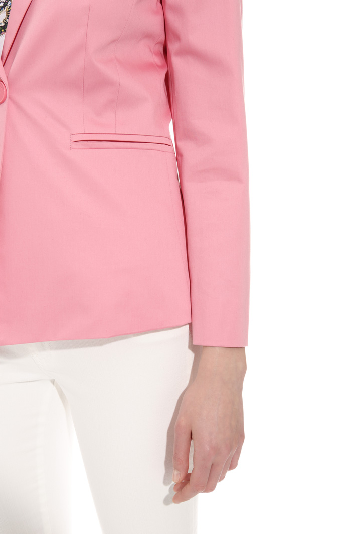 Cotton satin blazer  Intrend