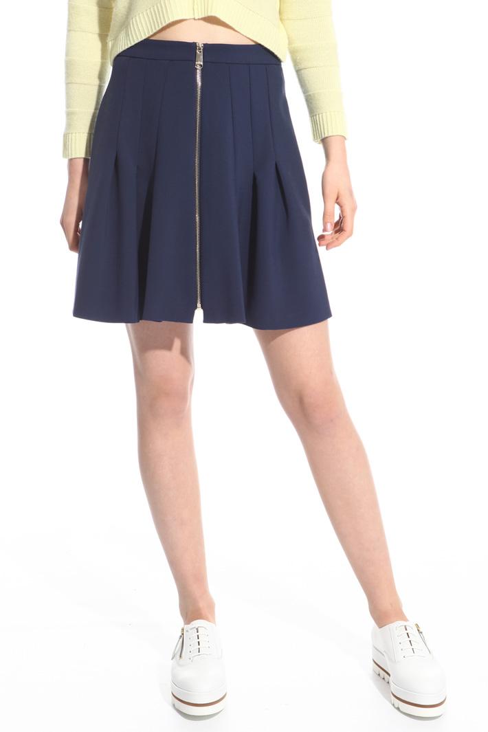 Zip front skirt Intrend