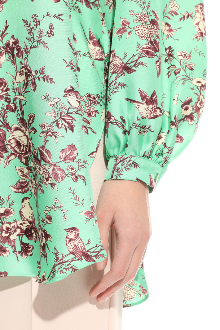 Twill maxi blouse Intrend