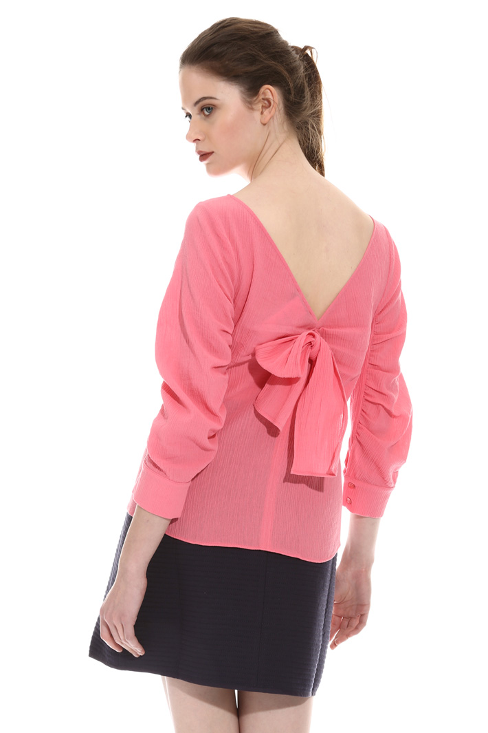 Cotton crepon top Intrend