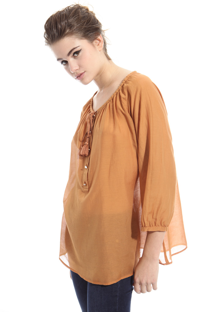 Cotton muslin blouse Intrend