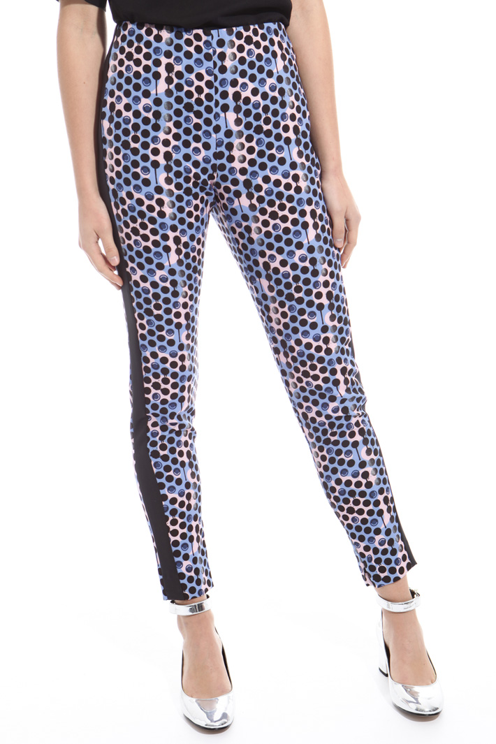 Leggings stampa all over Intrend