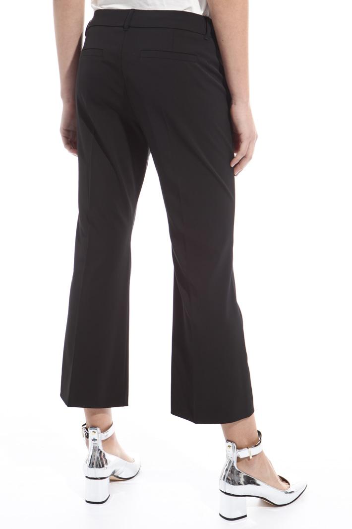 Pantalone in gabardina tecnica Intrend