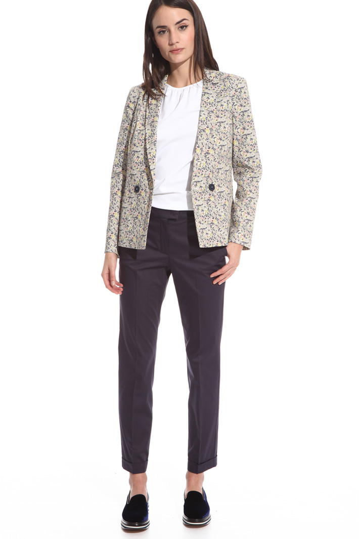 Slim-fit trousers Intrend