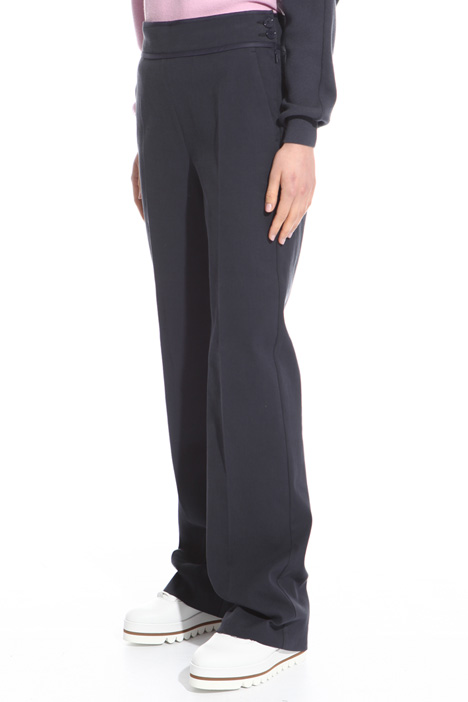 Cotton canneté trousers Intrend